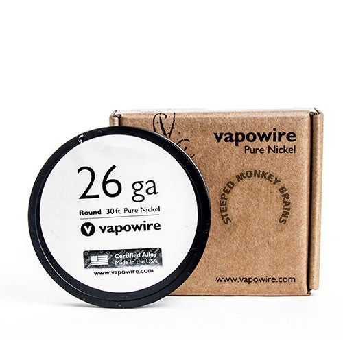Vapowire Pure Nickel Non-Resistance Wire