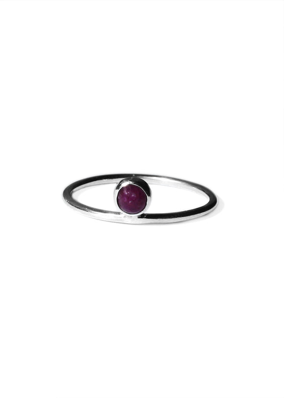 Keepsake Ring | Ruby