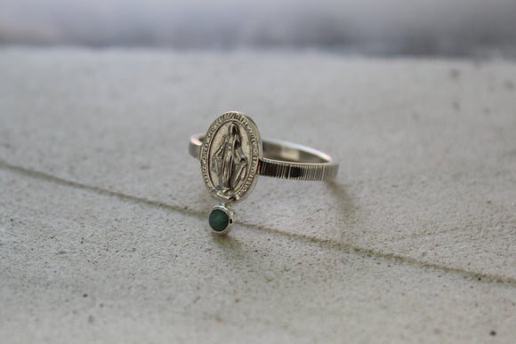 R.4 Emerald Mary Ring