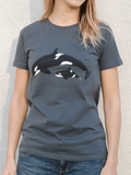 women's organic cotton ethical t shirt DriftFish Drift Fish surf clothing