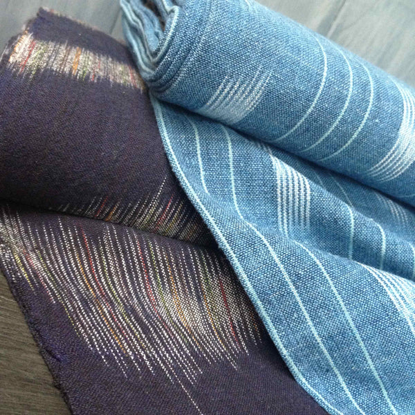 Ethically Sourced Handwoven Ikat Fabrics