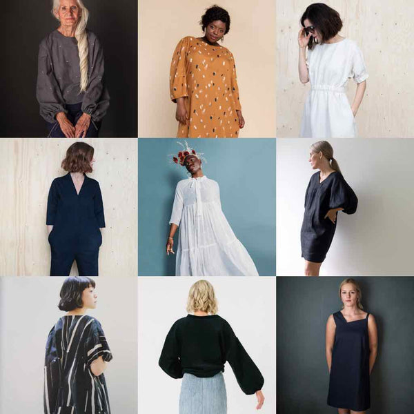 Make Nine 2021 Sewing Patterns