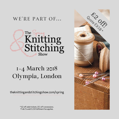 The Knitting & Stitching Show 2018 Olympia