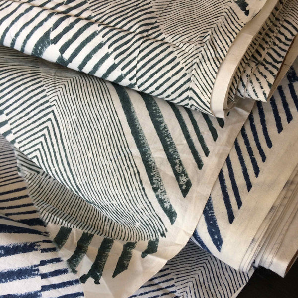 Merchant and Mills Delauney Hand Block Printed Fabrics