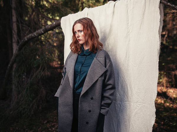 Namwed Clothing Gaia Quilted Coat Sewing Pattern