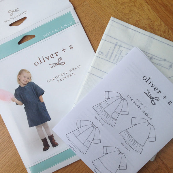 Oliver + S Carousel Dress Pattern
