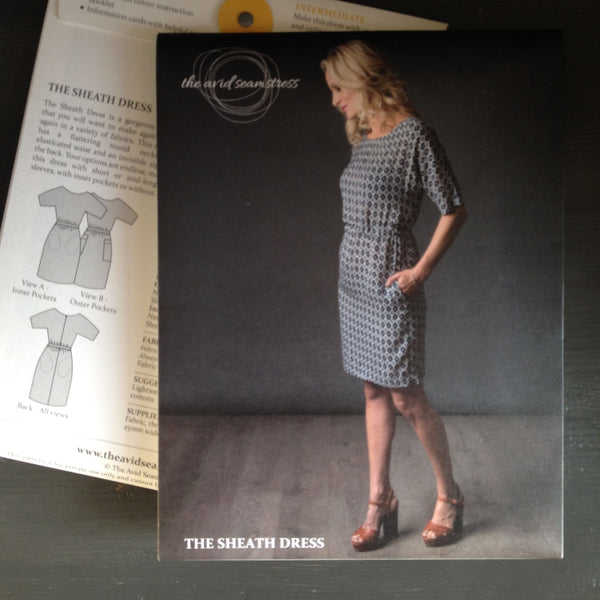 The Avid Seamstress Sheath Dress Sewing Pattern