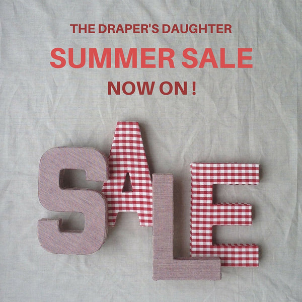 The Draper's Daughter Summer Sale