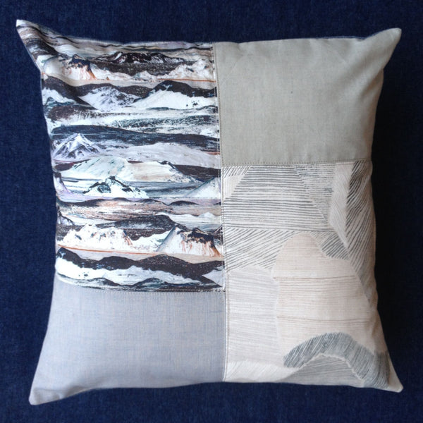 The Draper's Daughter Panelled Cushion Cover Tutorial