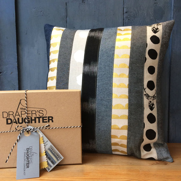 The Draper's Daughter Patching Cushion Cover Kit