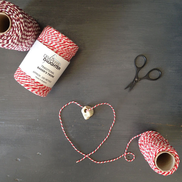 Valentine's Day Gift Wrapping with our Baker's Twine