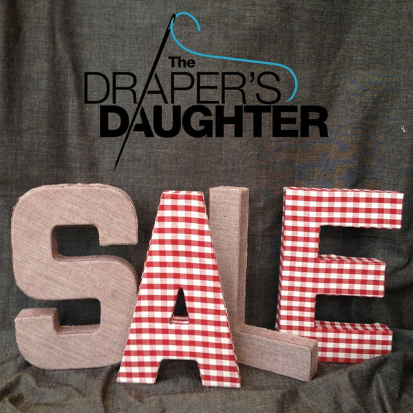 The Draper's Daughter Winter Sale
