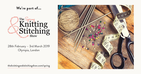 The Spring Knitting & Stitching Show 2019 Ticket Offer