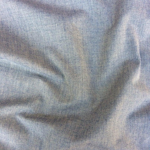 100% Organic Cotton Crossweave Dark Blue