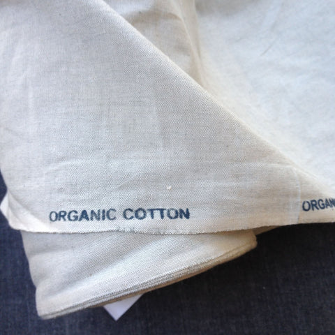 100% Organic Cotton Crossweave Natural
