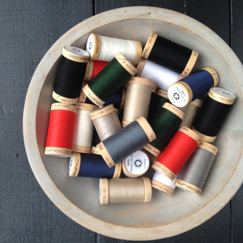 !00% Organic Cotton Thread