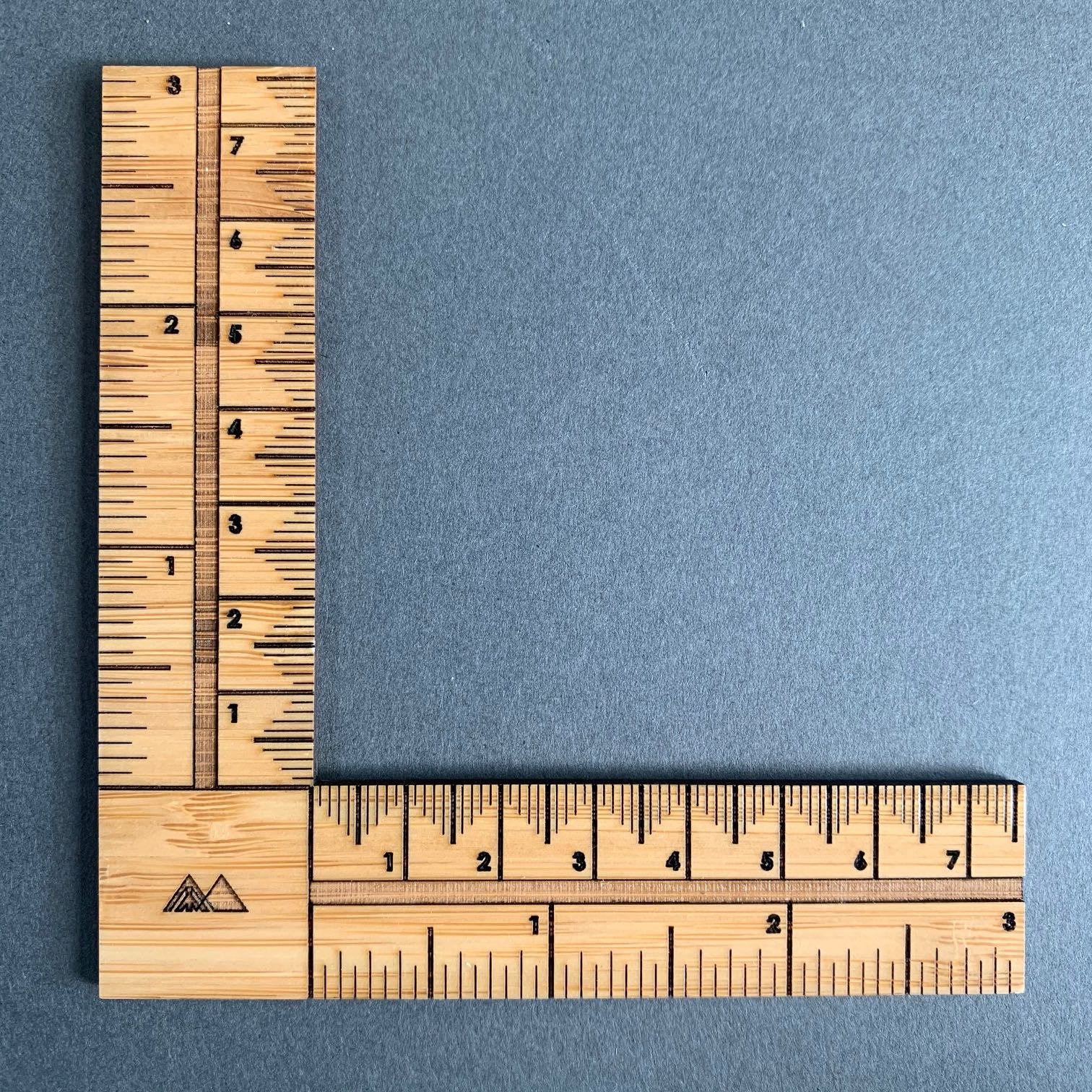 Arrow Mountain Right Angle Sewing Ruler