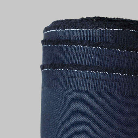 Cotton Panama Canvas Dark Blue