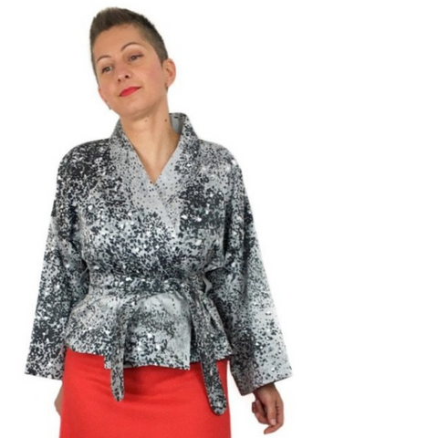 Dhurata Davies Overlap Blouse & Jacket Sewing Pattern