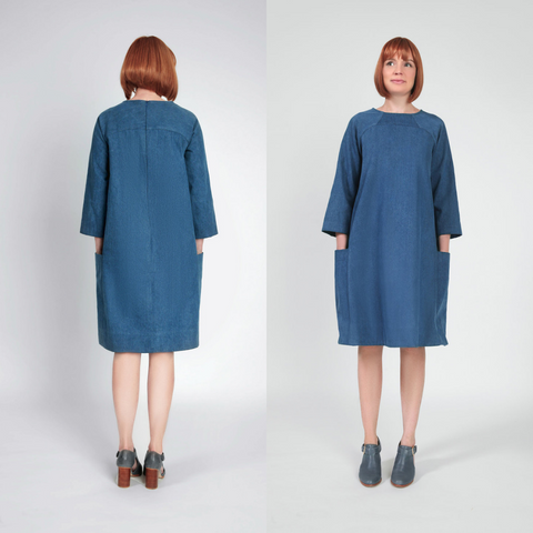 In the Folds The Rushcutter Dress Sewing Pattern