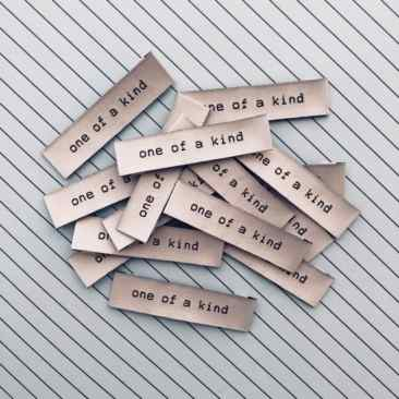 Kylie and the Machine One of a Kind Woven Labels for Sewing Projects