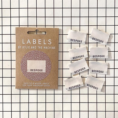 Kylie and the Machine Bespoke Woven Labels