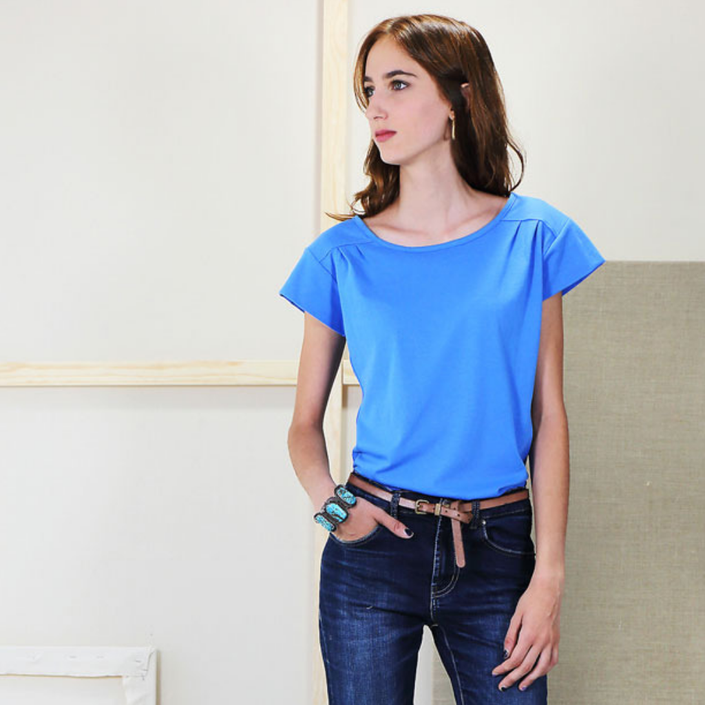 Liesl + Co Chai Tee Jersey Sewing Pattern
