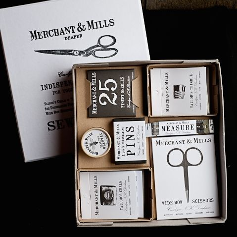 Merchant and Mills Selected Notions Box