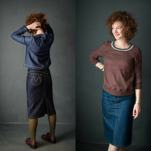 Merchant and Mills Clementine Skirt Sewing Pattern