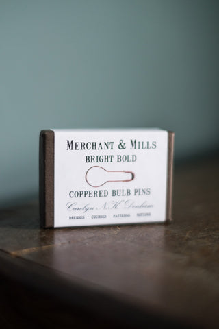 Merchant and Mills Coppered Bulb Pins