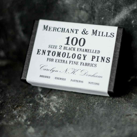 Merchant and Mills Entomology Dressmaking & Sewing Pins