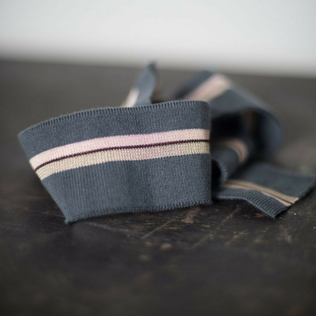 Merchant and Mills Ice and Cream Striped Ribbing