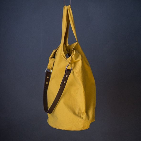 Merchant and Mill Jack Tar Bucket Bag Sewing Pattern