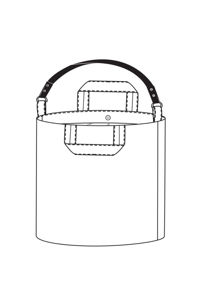 MERCHANT and MILLS • Jack Tar Bucket Bag Sewing Pattern – The ...