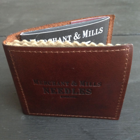 Merchant and Mills Leather Needle Wallet