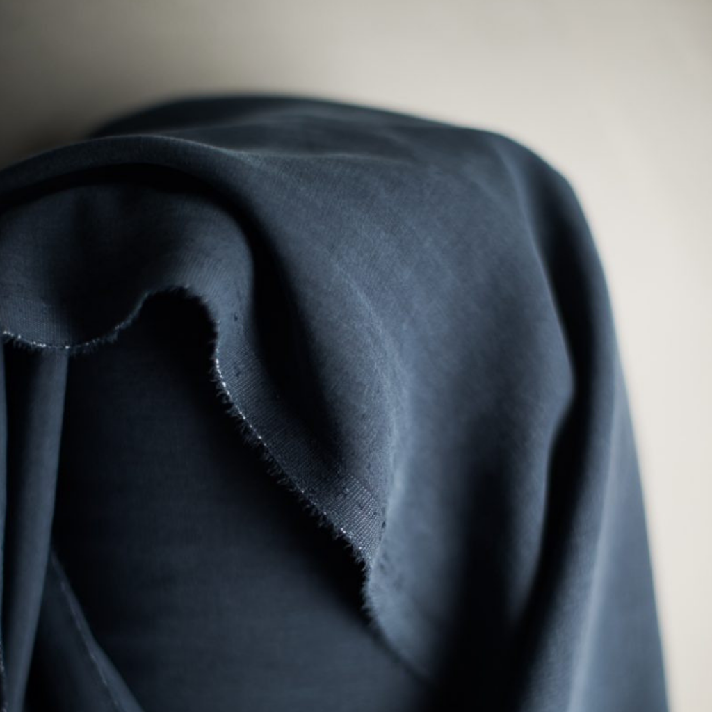 Merchant and Mills Tencel Twill Fabric Navy