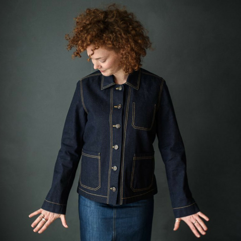Merchant and Mills Ottoline Denim Jacket Sewing Pattern