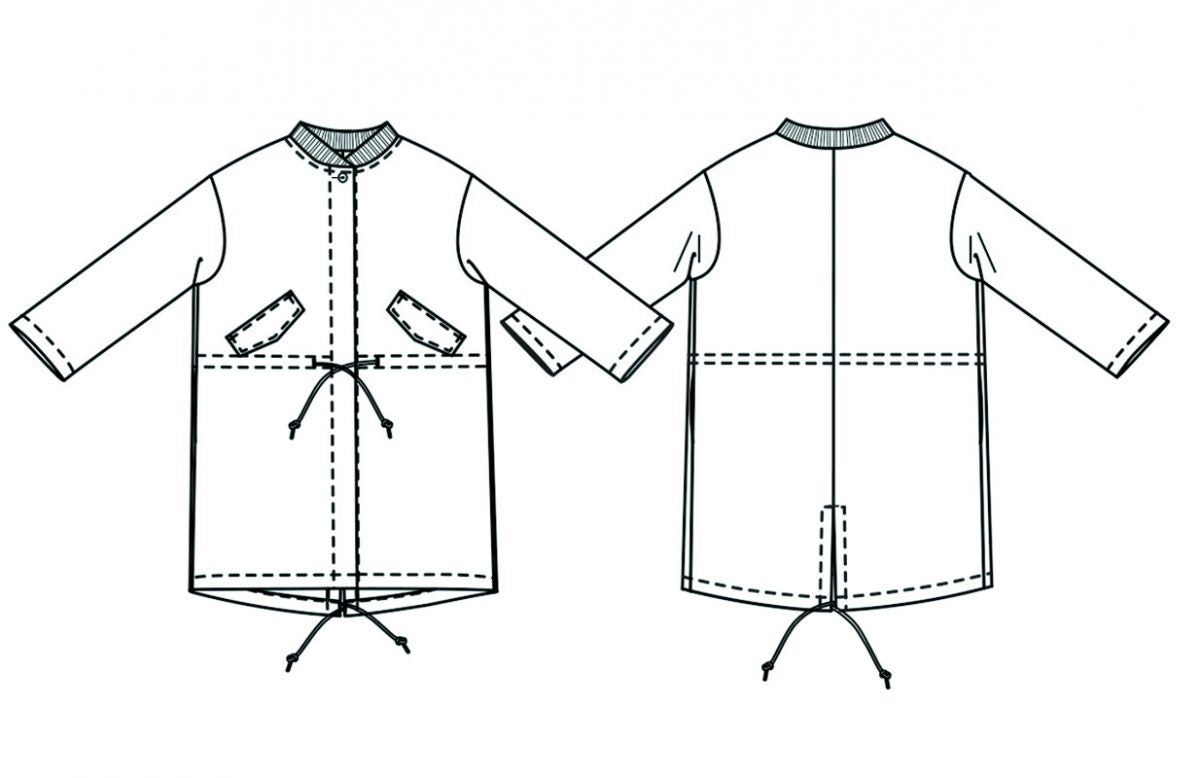 MERCHANT AND MILLS • The TN31 Parka Sewing Pattern – The Draper\'s ...