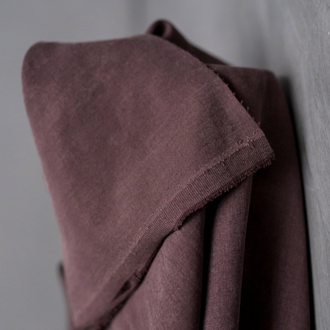 Merchant and Mills Tencel Twill Fabric Mulberry