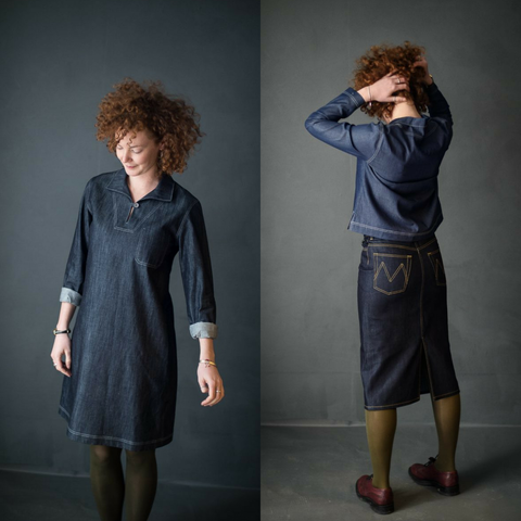 Merchant and Mills The Francine Top and Dress Sewing Pattern