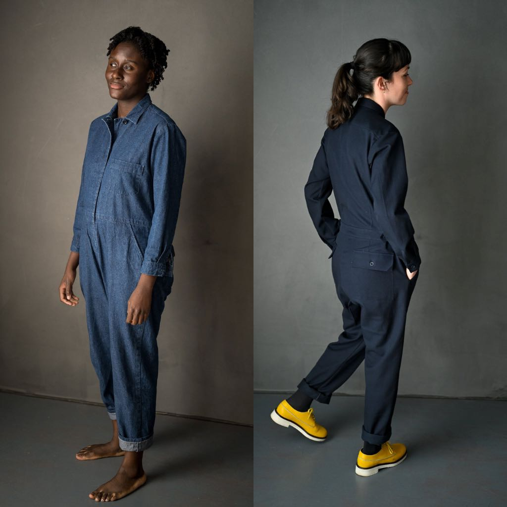 Merchant & Mills The Thelma Boilersuit Jumpsuit Sewing Pattern
