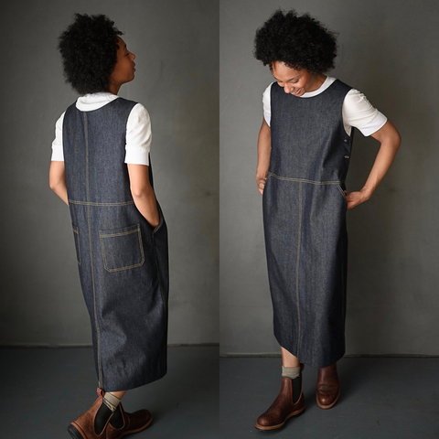 Merchant and Mills The Whittaker Dress Pinafore Sewing Pattern