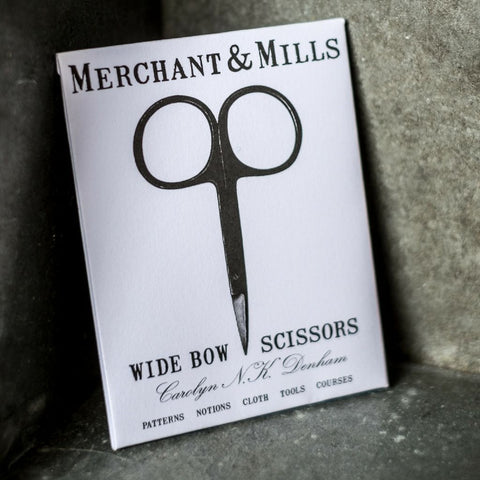 Merchant and Mills Wide Bow Scissors