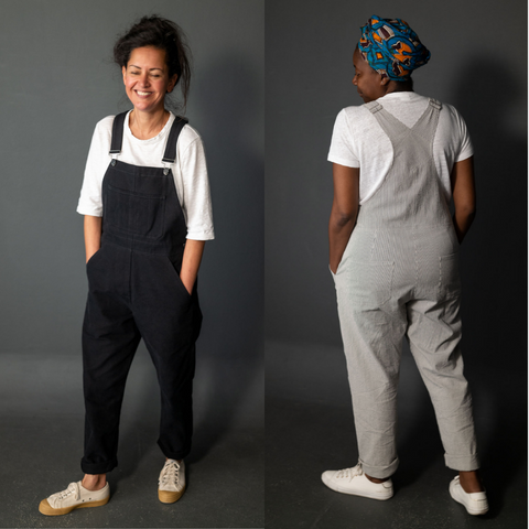 Merchant and Mills Harlene Dungarees Sewing pattern