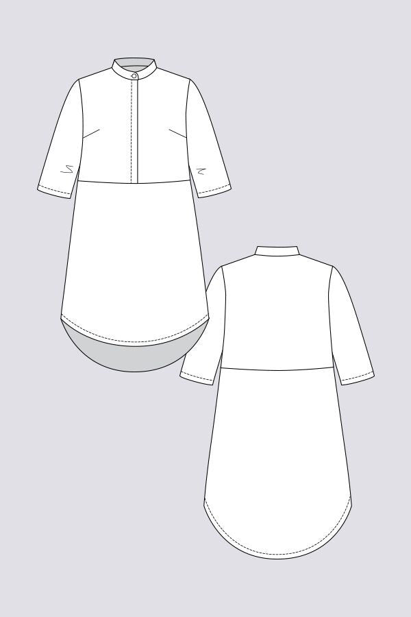 Named Clothing Helmi Tunic Dress And Blouse The Drapers Daughter