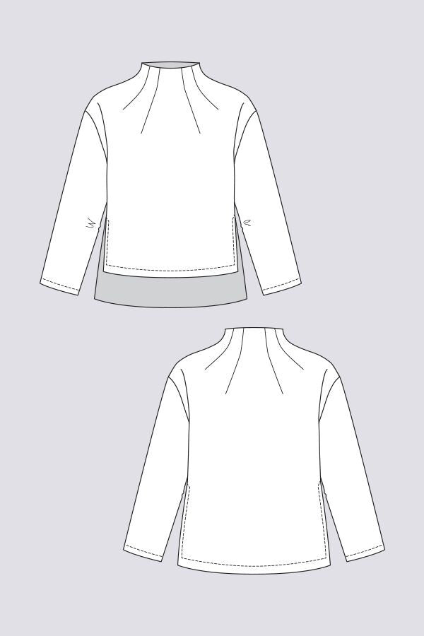 NAMED CLOTHING • Talvikki Sweater – The Draper\'s Daughter