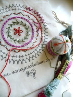 Nancy Nicholosn Embroidery Stitch Kits