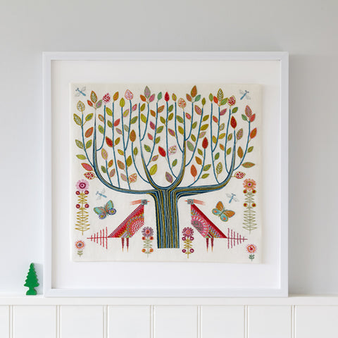 Nancy Nicholson Tree Embroidery Stitch Kit