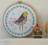 Nancy Nicholson Birdie 1 Embroidery Stitch Kit