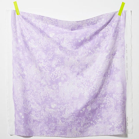 Nani Iro Lei Nani Cotton Double Gauze Fabric Lavender